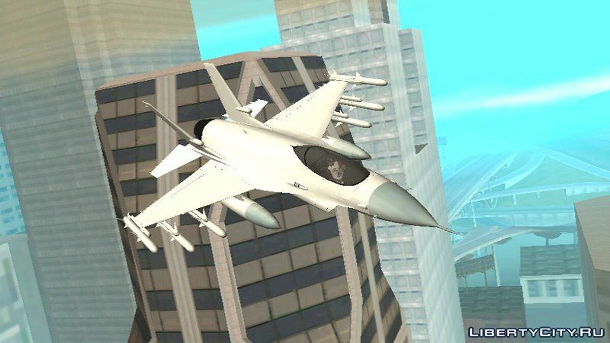 GTA V P-996 LAZER For Android (DFF only) for GTA San Andreas (iOS, Android)