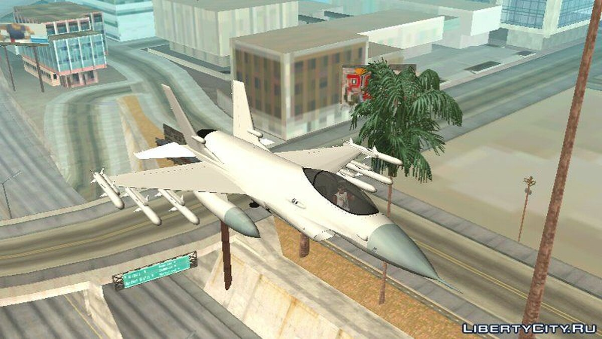 GTA V P-996 LAZER For Android (DFF only) for GTA San Andreas (iOS, Android) - screenshot #2