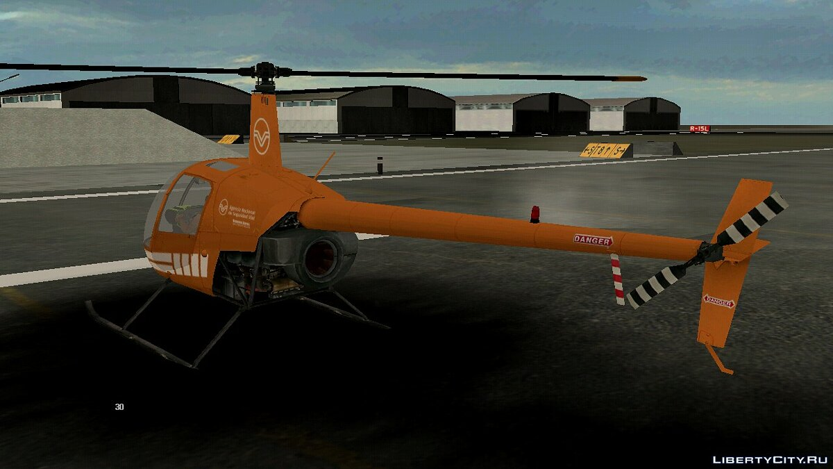 Planes and helicopters Robinson for GTA San Andreas (iOS, Android)