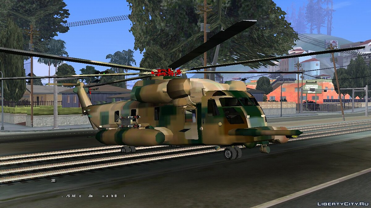 Planes and helicopters MH53 Cargobob (DFF only) for GTA San Andreas (iOS, Android)