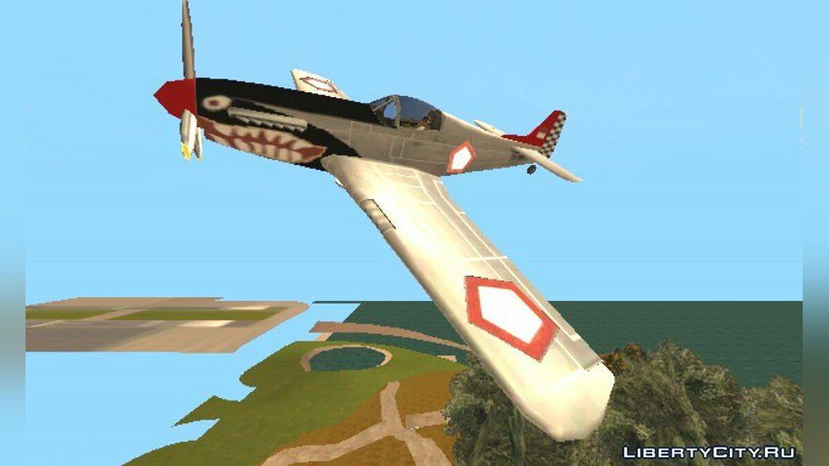 Planes and helicopters Rustler TNI AU (индонезийские воздушные силы) for GTA San Andreas (iOS, Android)
