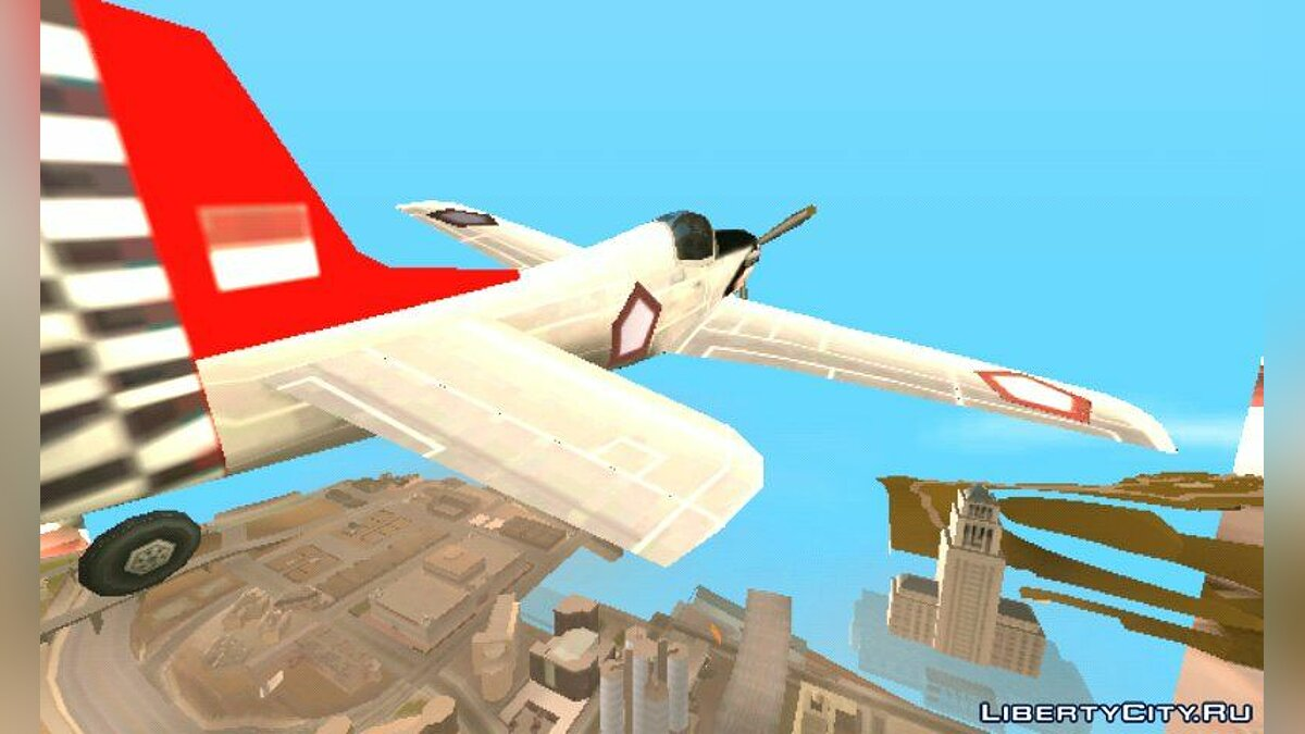 Planes and helicopters Rustler TNI AU (Indonesian Air Force) for GTA San Andreas (iOS, Android)