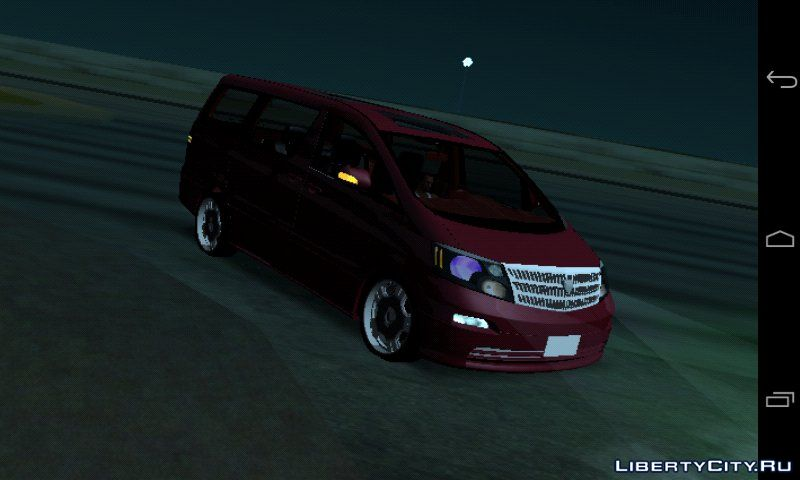 Toyota Alphard Dff Only For Gta San Andreas Ios Android