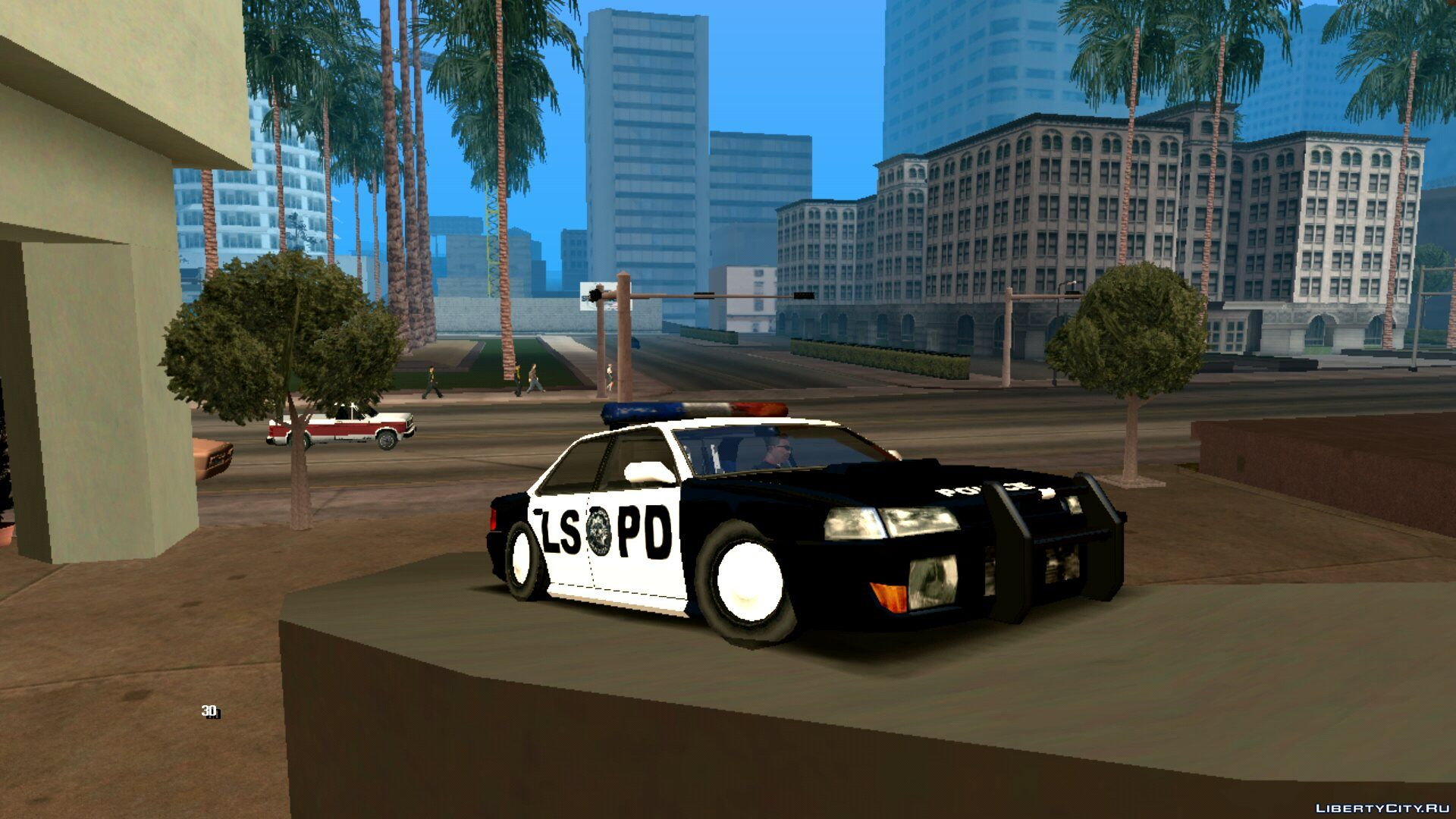 Sultan LSPD for GTA San Andreas (iOS, Android)