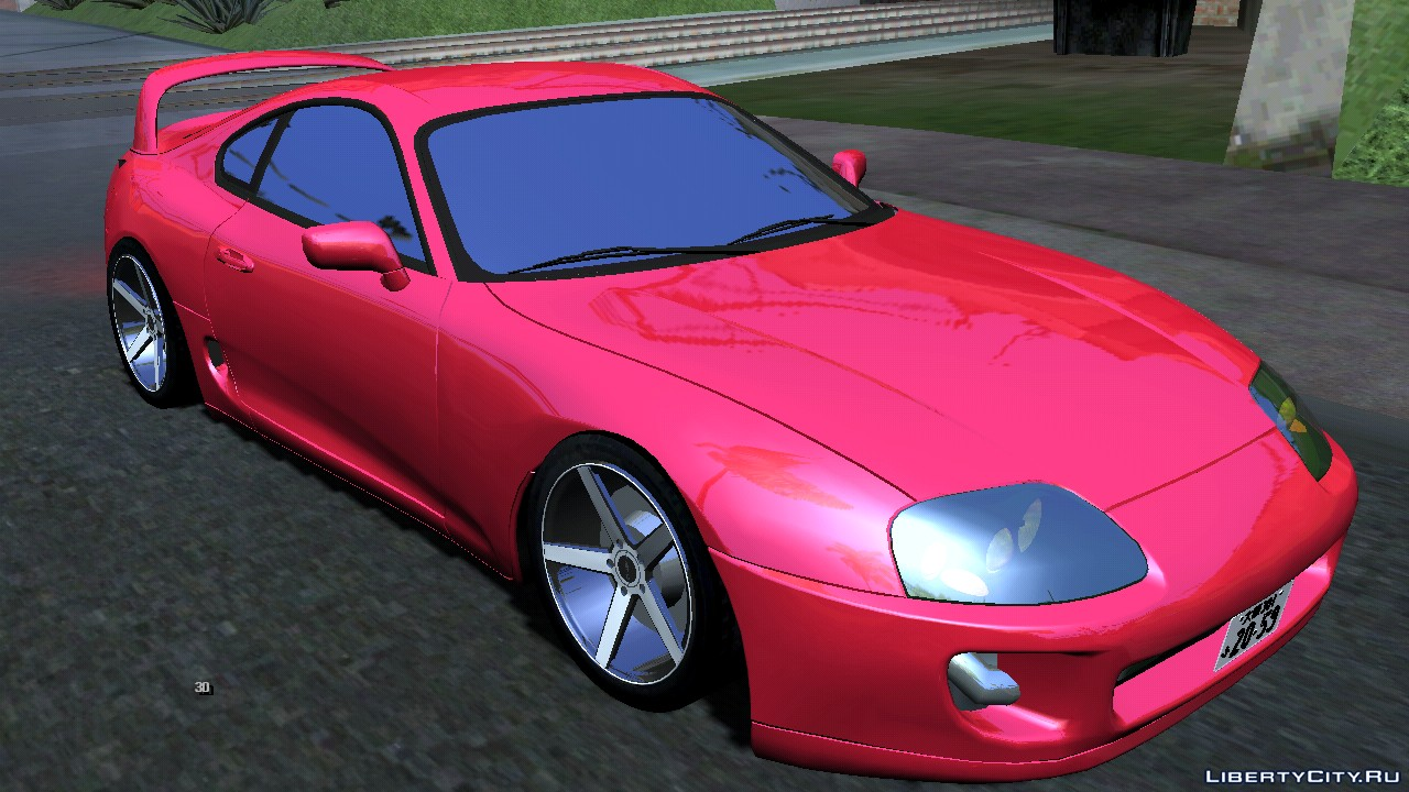 Toyota Supra Dff Only For Gta San Andreas Ios Android