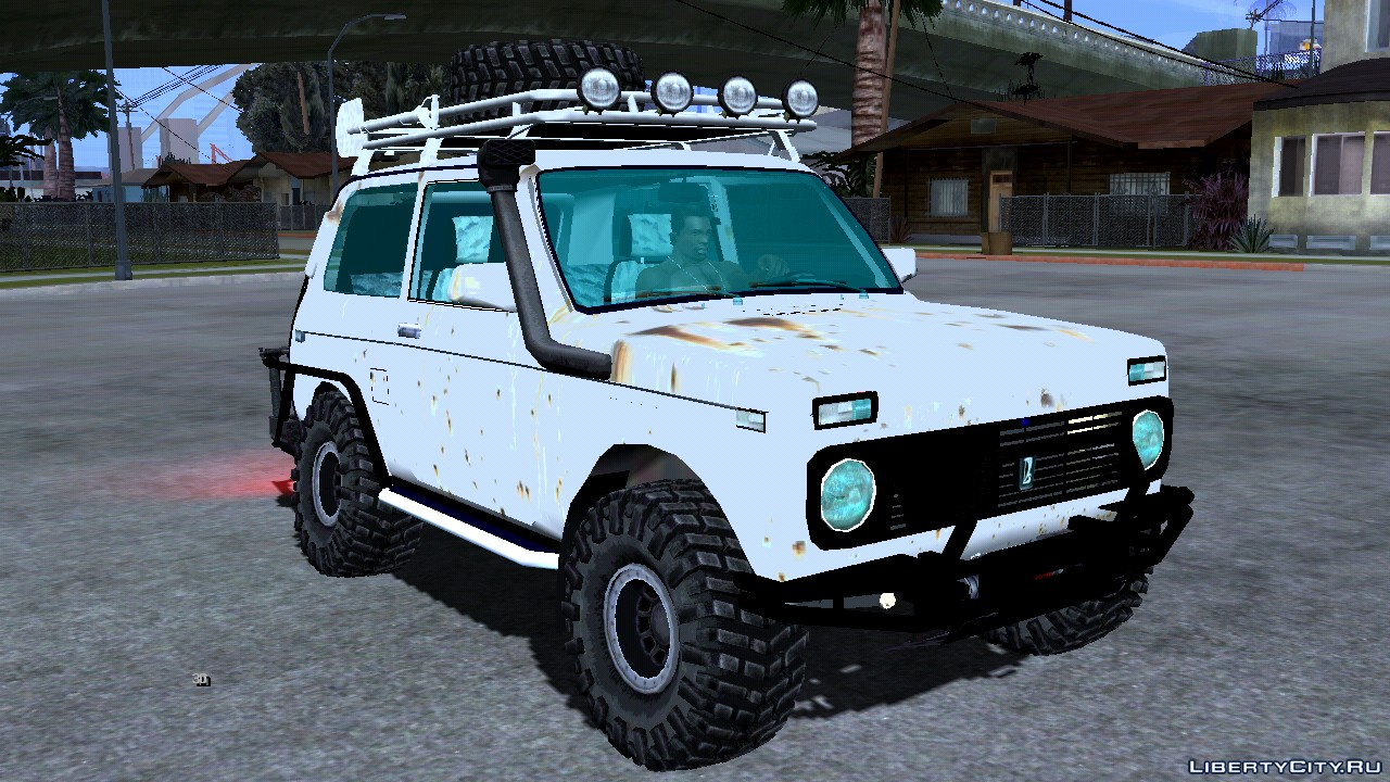 Lada Niva 4x4 Off Road For Gta San Andreas Ios Android