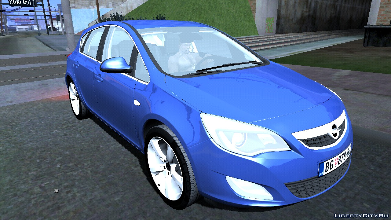 2011 Opel Astra J For Gta San Andreas Ios Android