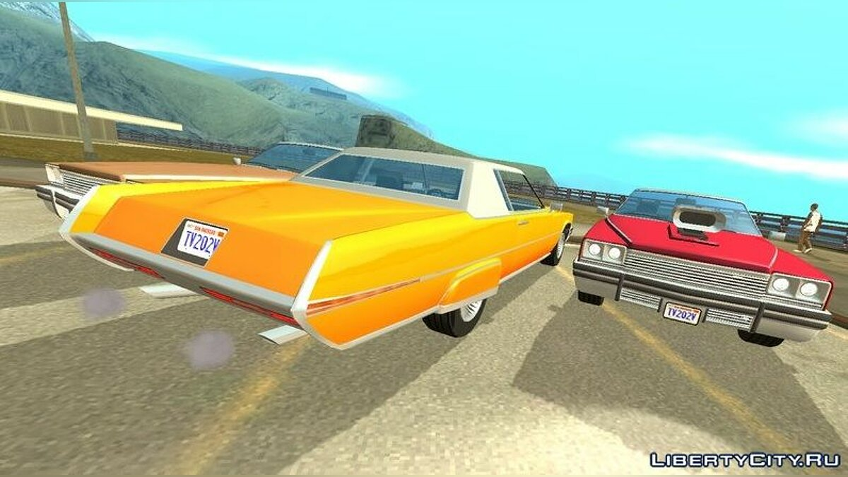 Car Albany Manana (DFF only) for GTA San Andreas (iOS, Android)