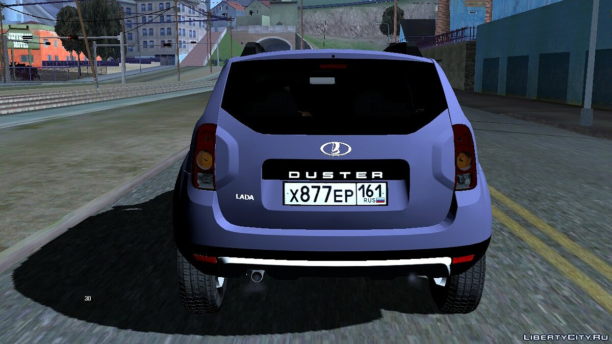 Car Lada duster for GTA San Andreas (iOS, Android)
