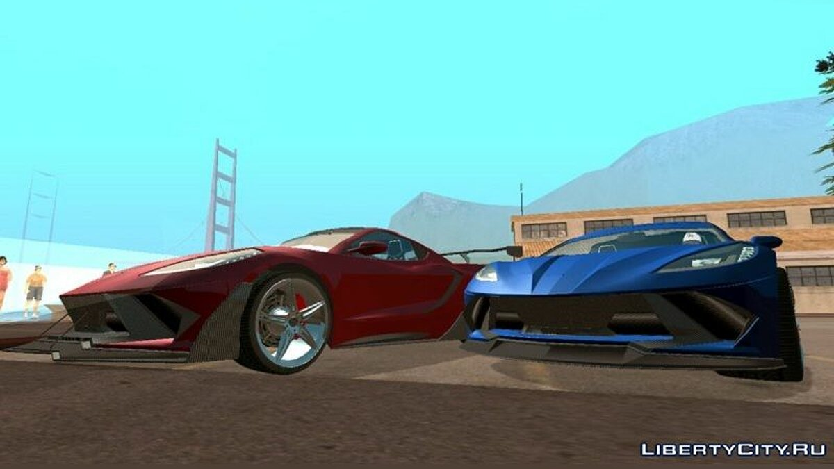 Car Invetero Coquette D10 (DFF only) for GTA San Andreas (iOS, Android)