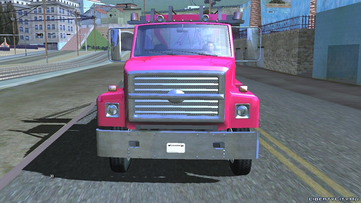 Car Vapid Towtruck Large (DFF only) for GTA San Andreas (iOS, Android)