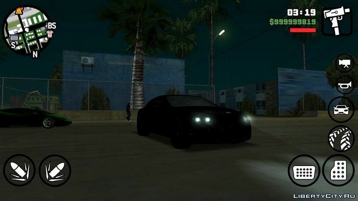 Car Bentley Continental Supersports for GTA San Andreas (iOS, Android)
