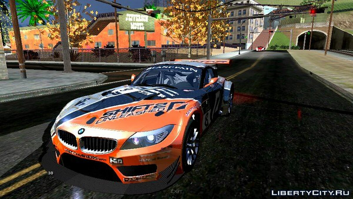 Car BMW Z4 GT3 for GTA San Andreas (iOS, Android)