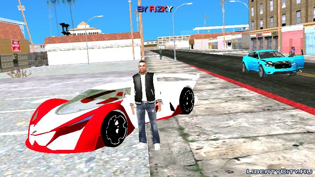 Car GTA 5 Grotti Prototipo (DFF only) for GTA San Andreas (iOS, Android)