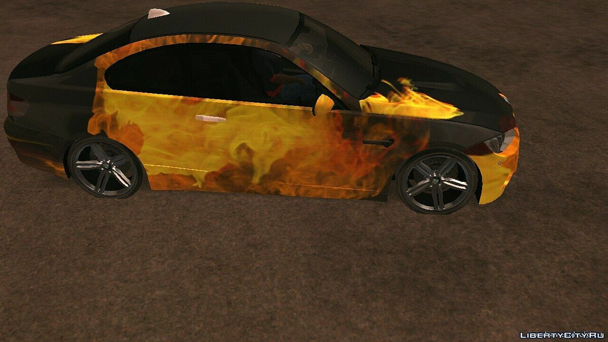 BMW M3 e92 for GTA San Andreas (iOS, Android) - Картинка #2