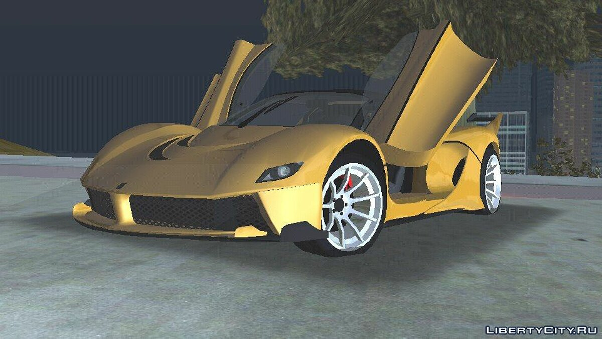 GTA V Grotti Turismo RXX-K for GTA San Andreas (iOS, Android) - Картинка #1