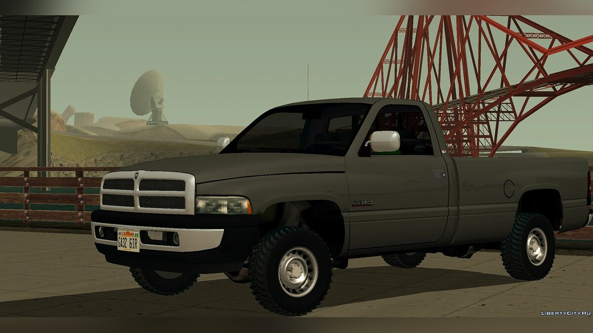 Car Dodge Ram 2500 for GTA San Andreas (iOS, Android)