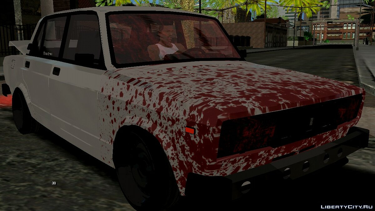 Car VAZ 2105 with a corpse in the trunk for GTA San Andreas (iOS, Android)