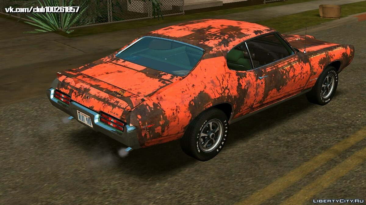 Car Pontiac GTO The Judge Hardtop Coupe 1969 for GTA San Andreas (iOS, Android)