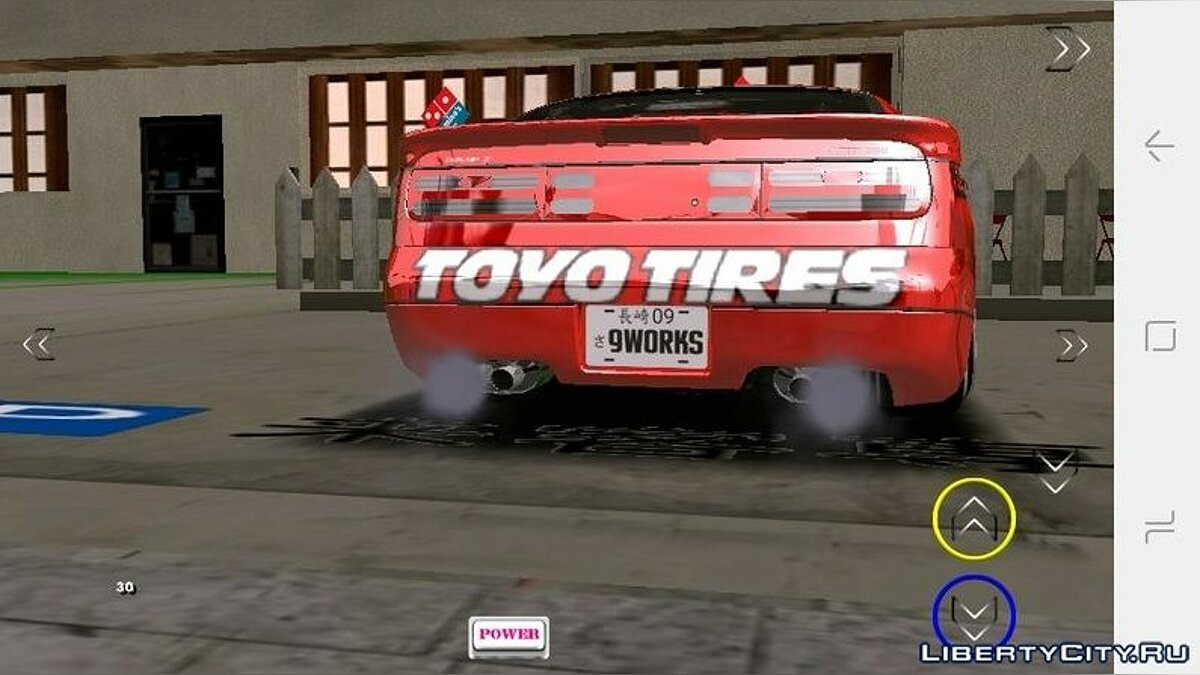 Car Nissan 300zx Twin Turbo for GTA San Andreas (iOS, Android)