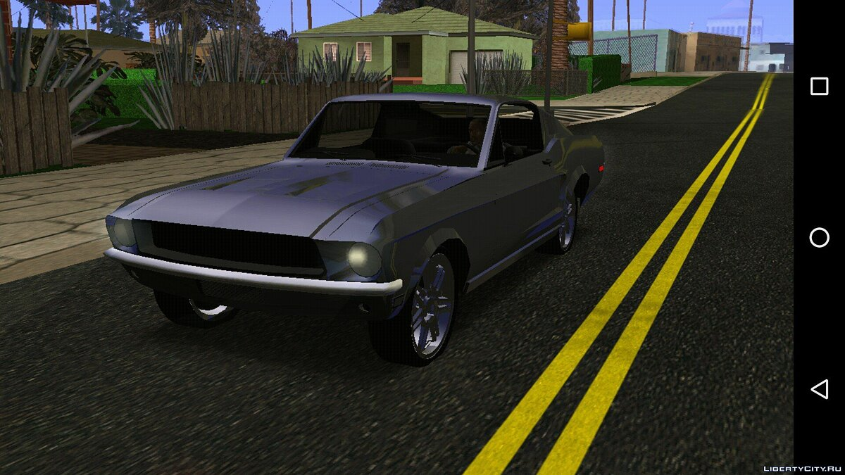 Car Ford Mustang 1967 (DFF only) for GTA San Andreas (iOS, Android)