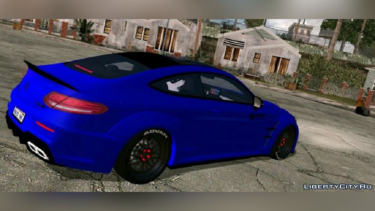 Car Mercedes-Benz AMG C63 S for GTA San Andreas (iOS, Android)