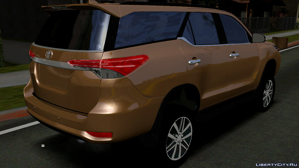 Car 2018 Toyota Fortuner (DFF only) for GTA San Andreas (iOS, Android)