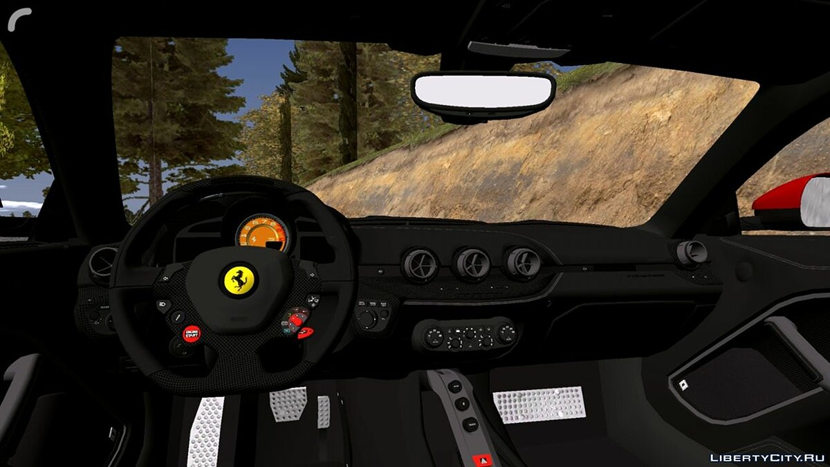 Car Ferrari for GTA San Andreas (iOS, Android)