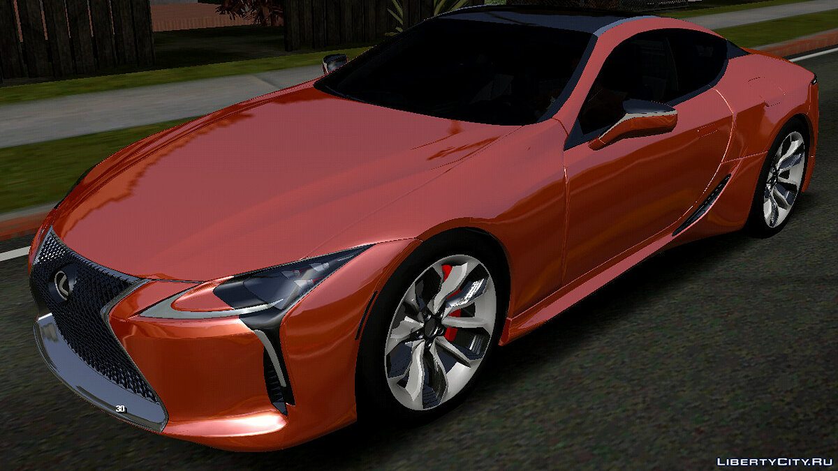 Car Lexus LC500 (DFF only) for GTA San Andreas (iOS, Android)