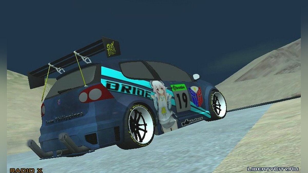 Car Volkswagen Racer Philippines 2017 for GTA San Andreas (iOS, Android)