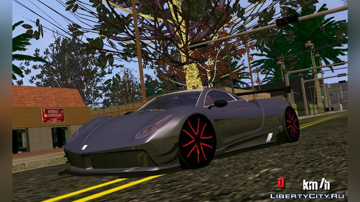 Car Pegassi osiris for GTA San Andreas (iOS, Android)