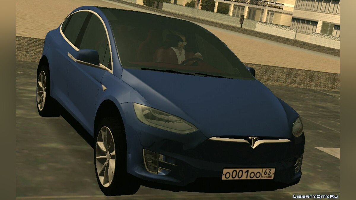 Car Tesla Model X (DFF only) for GTA San Andreas (iOS, Android)