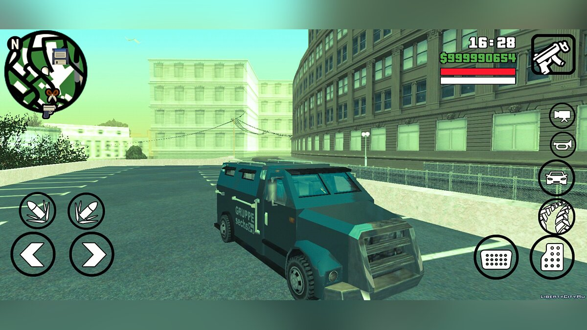 Car Securicar from GTA LCS [SA Style] for GTA San Andreas (iOS, Android)