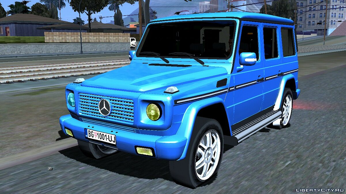 Mercedes-Benz G 500 for GTA San Andreas (iOS, Android) - Картинка #1