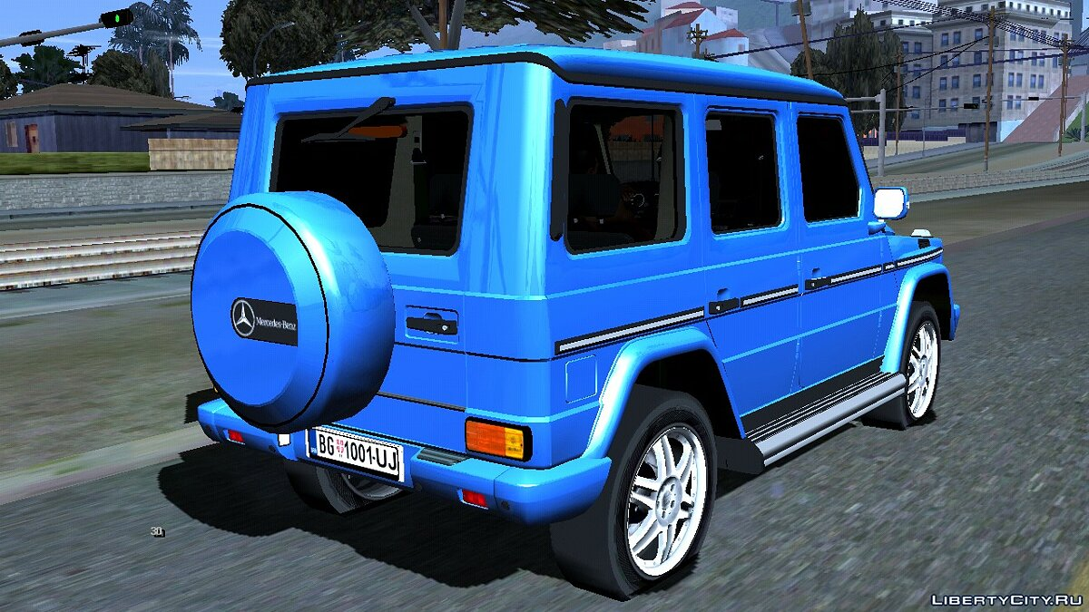 Mercedes-Benz G 500 for GTA San Andreas (iOS, Android) - Картинка #2