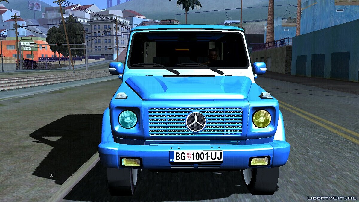 Mercedes-Benz G 500 for GTA San Andreas (iOS, Android) - Картинка #4
