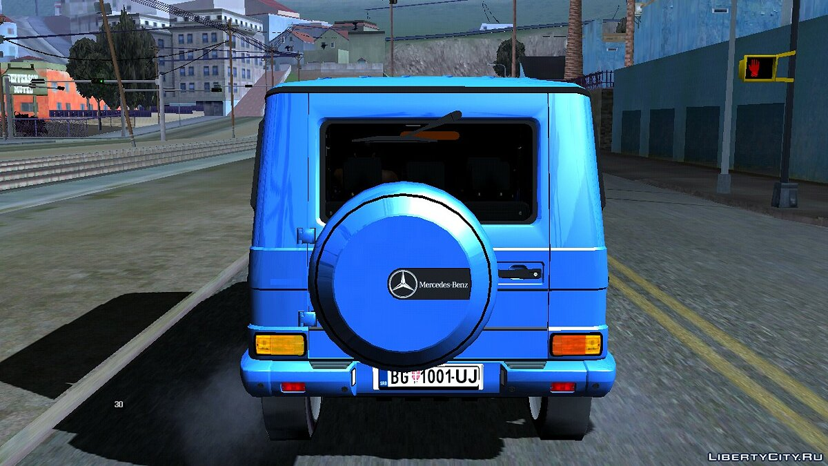 Mercedes-Benz G 500 for GTA San Andreas (iOS, Android) - Картинка #5