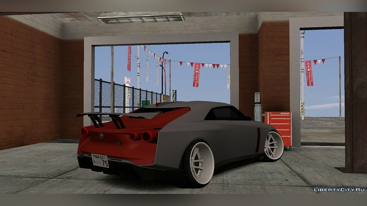 Car Nissan GT-R R50 Stance for GTA San Andreas (iOS, Android)