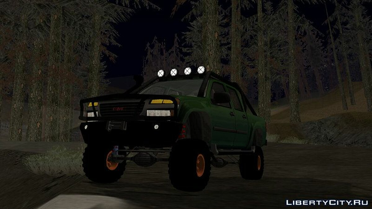 GMC Canyon 2007 Tuneable for GTA San Andreas (iOS, Android) - Картинка #2