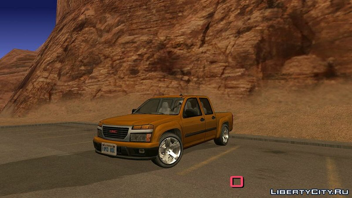 GMC Canyon 2007 Tuneable for GTA San Andreas (iOS, Android) - Картинка #3