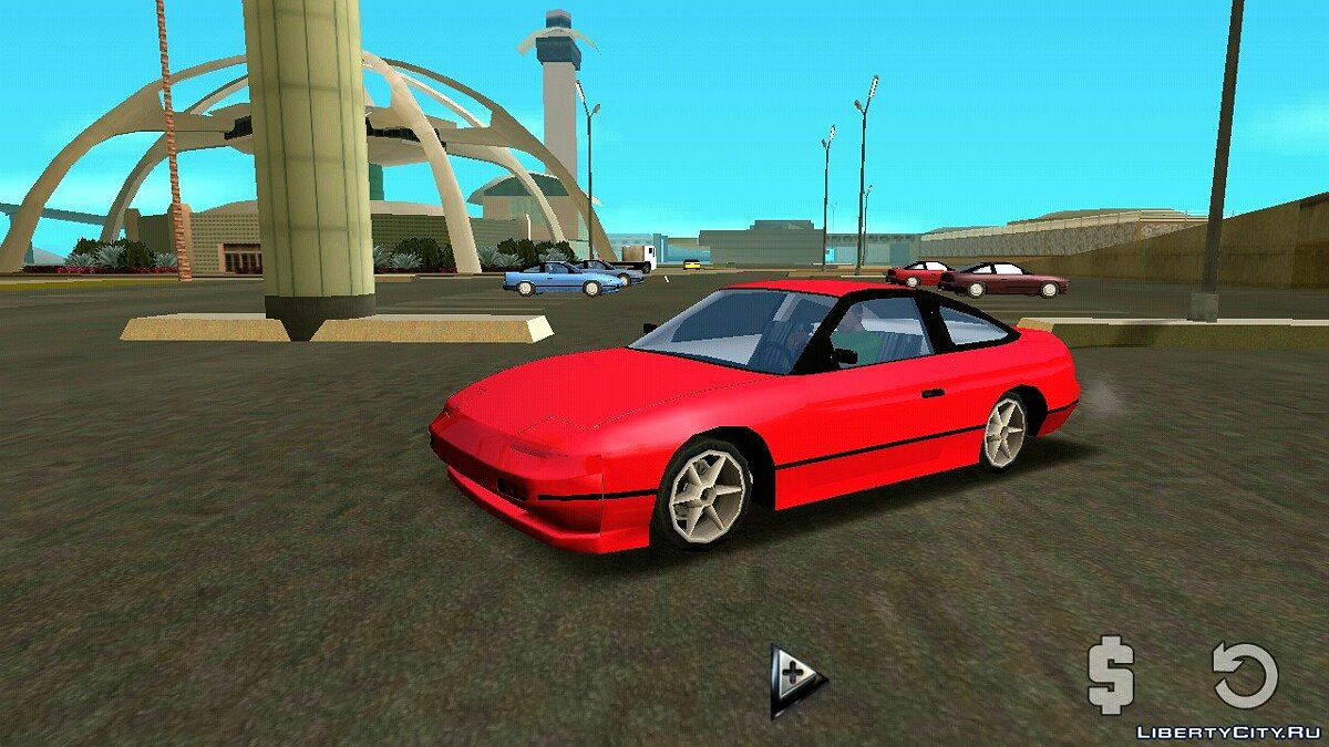 Nissan 240sx (DFF only) for GTA San Andreas (iOS, Android) - Картинка #1