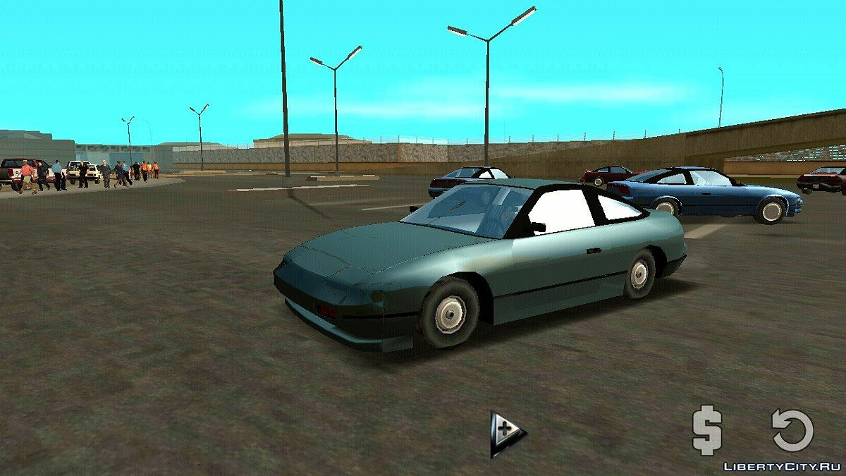 Nissan 240sx (DFF only) for GTA San Andreas (iOS, Android) - Картинка #2
