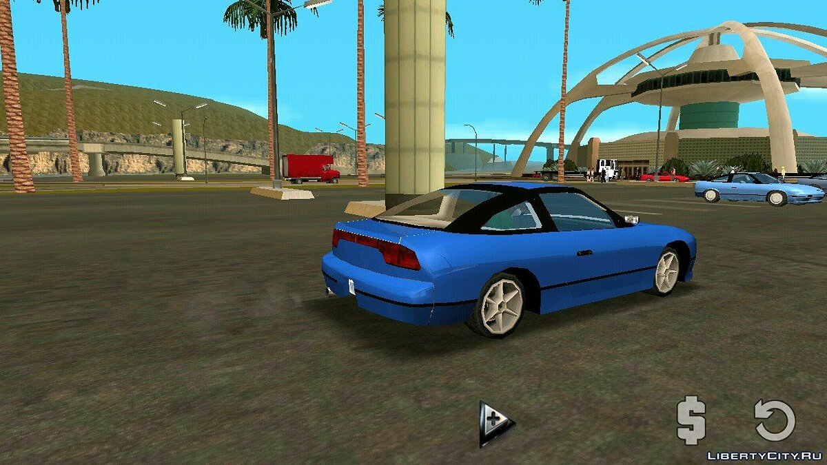 Nissan 240sx (DFF only) for GTA San Andreas (iOS, Android) - Картинка #3