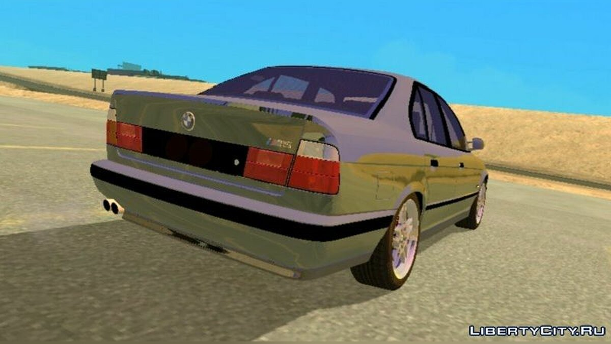 Car BMW M5 E34 for GTA San Andreas (iOS, Android)