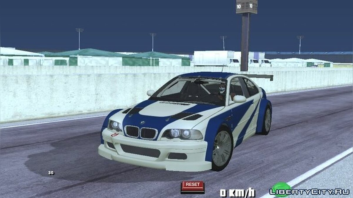 Car BMW M3 GTR (E46) 2004 for GTA San Andreas (iOS, Android)