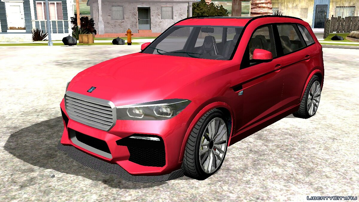 Car Ubermacht Rebla GTS from GTA 5 for GTA San Andreas (iOS, Android)
