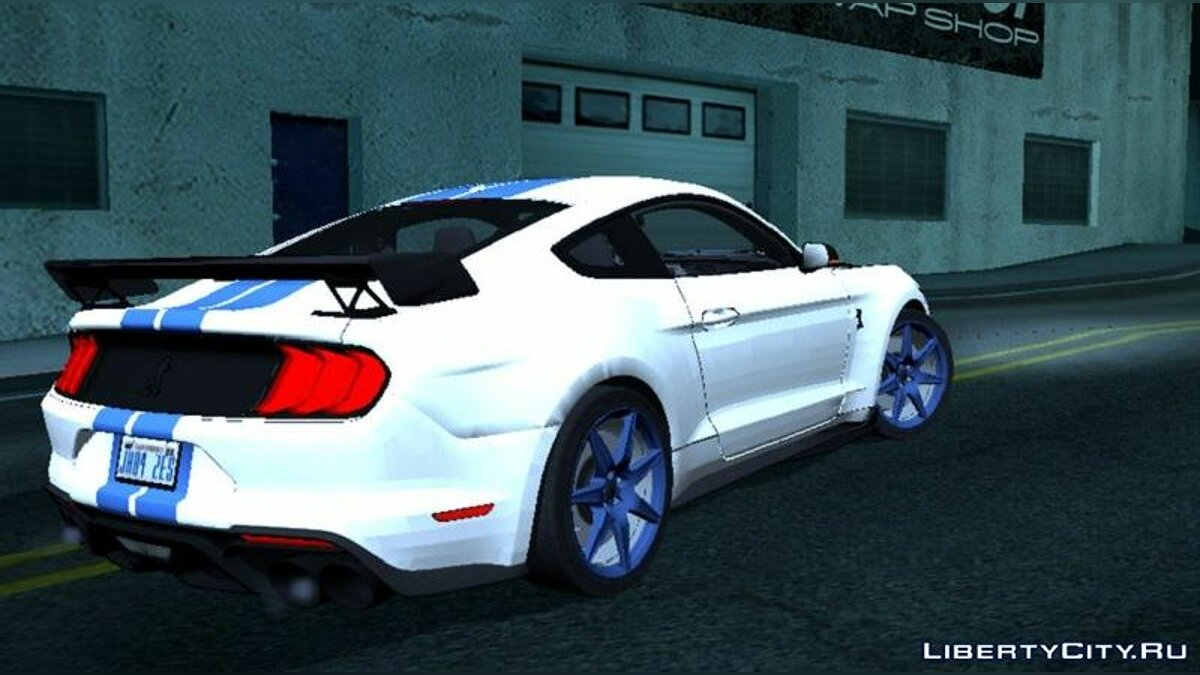 Car Ford Shelby GT500 2020 for GTA San Andreas (iOS, Android)