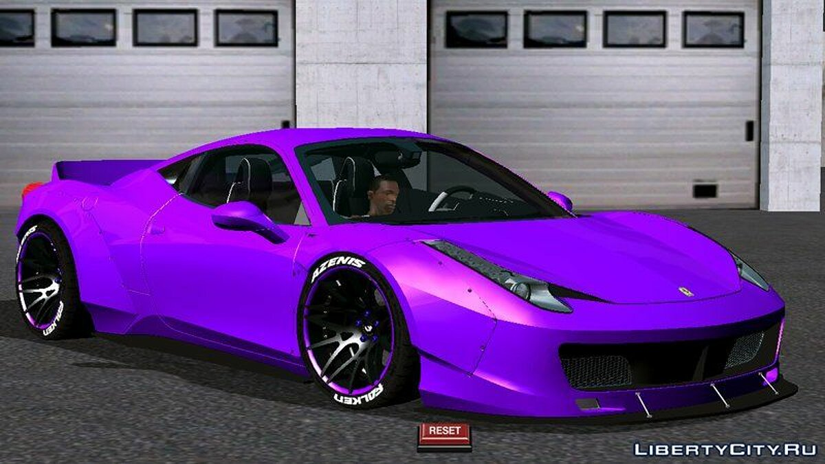 Car Ferrari 458 Liberty Walk for GTA San Andreas (iOS, Android)