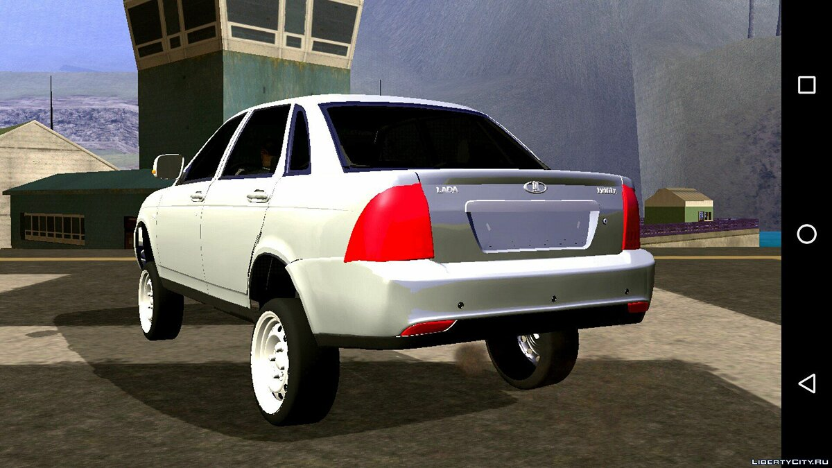Car Lada Priora Anti BaPAN (DFF only) for GTA San Andreas (iOS, Android)