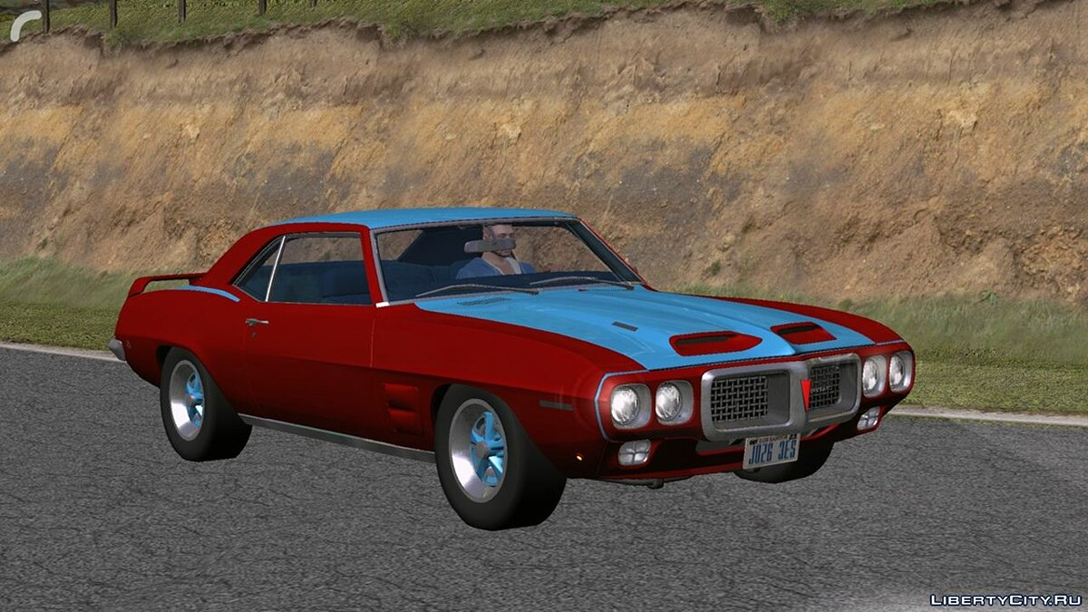 Car Pontiac (DFF only) for GTA San Andreas (iOS, Android)